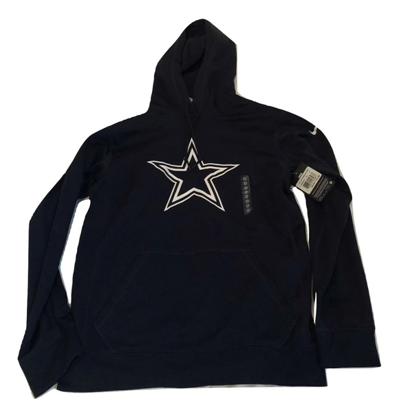 new style 38e43 a20f5 Dallas Cowboys Nike KO Logo Hoodie Sweatshirt